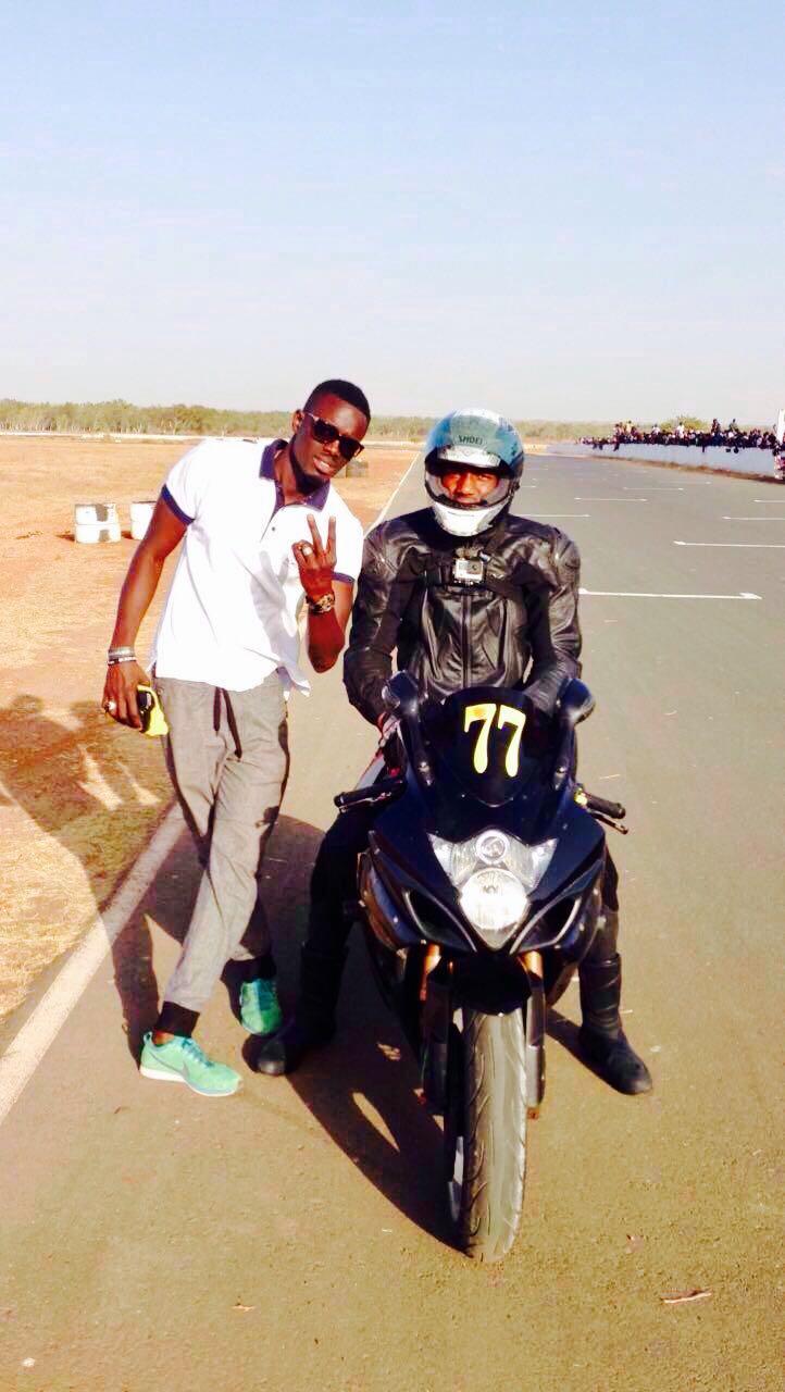 Edge Sèye: l'homme sauveur du bébé abandonné dans les falaises des Mamelles gagne le tournoi moto (Journée Max 2 roues) pour la seconde fois