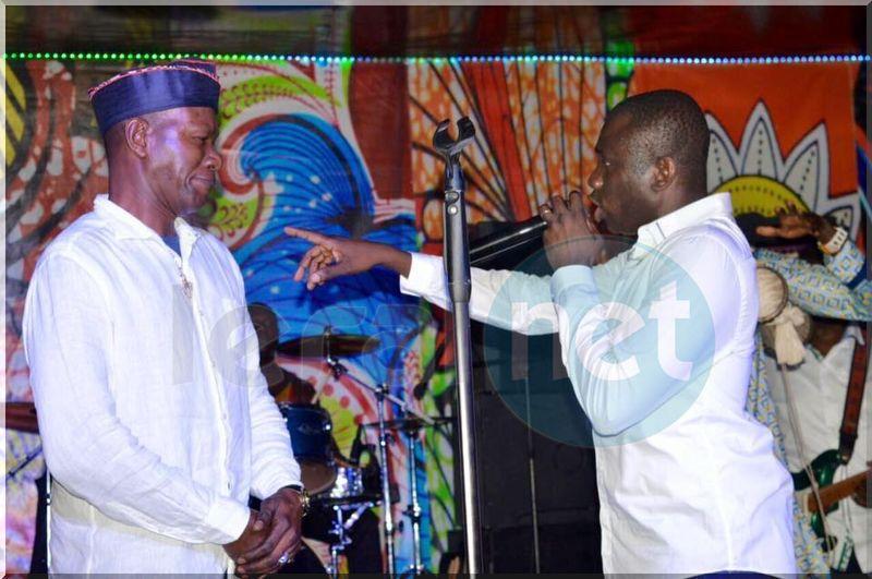 Photos- Pape Diouf au Saraba Night Club