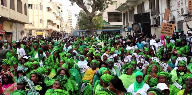 Les femmes socialistes et la caution de Khalifa Sall