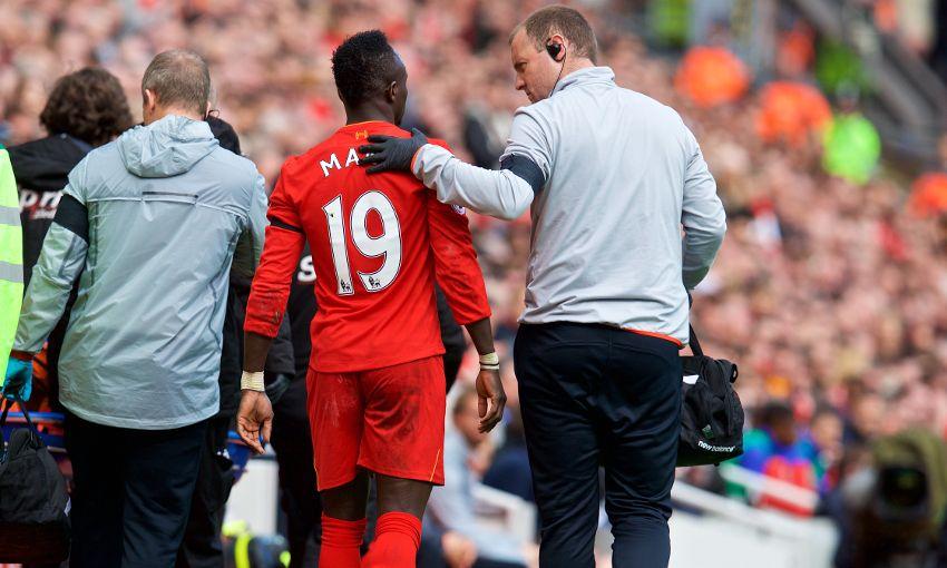 Sadio Mané sorti sur blessure