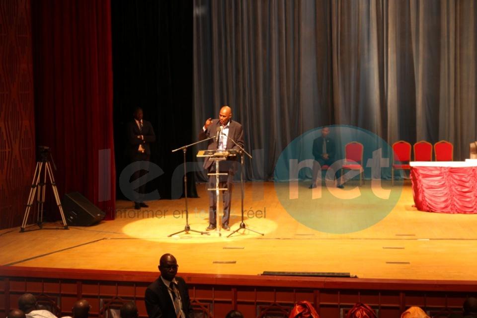 Youssou Touré à l'occasion de la 3e  édition du Réseau des enseignants de l'Apr