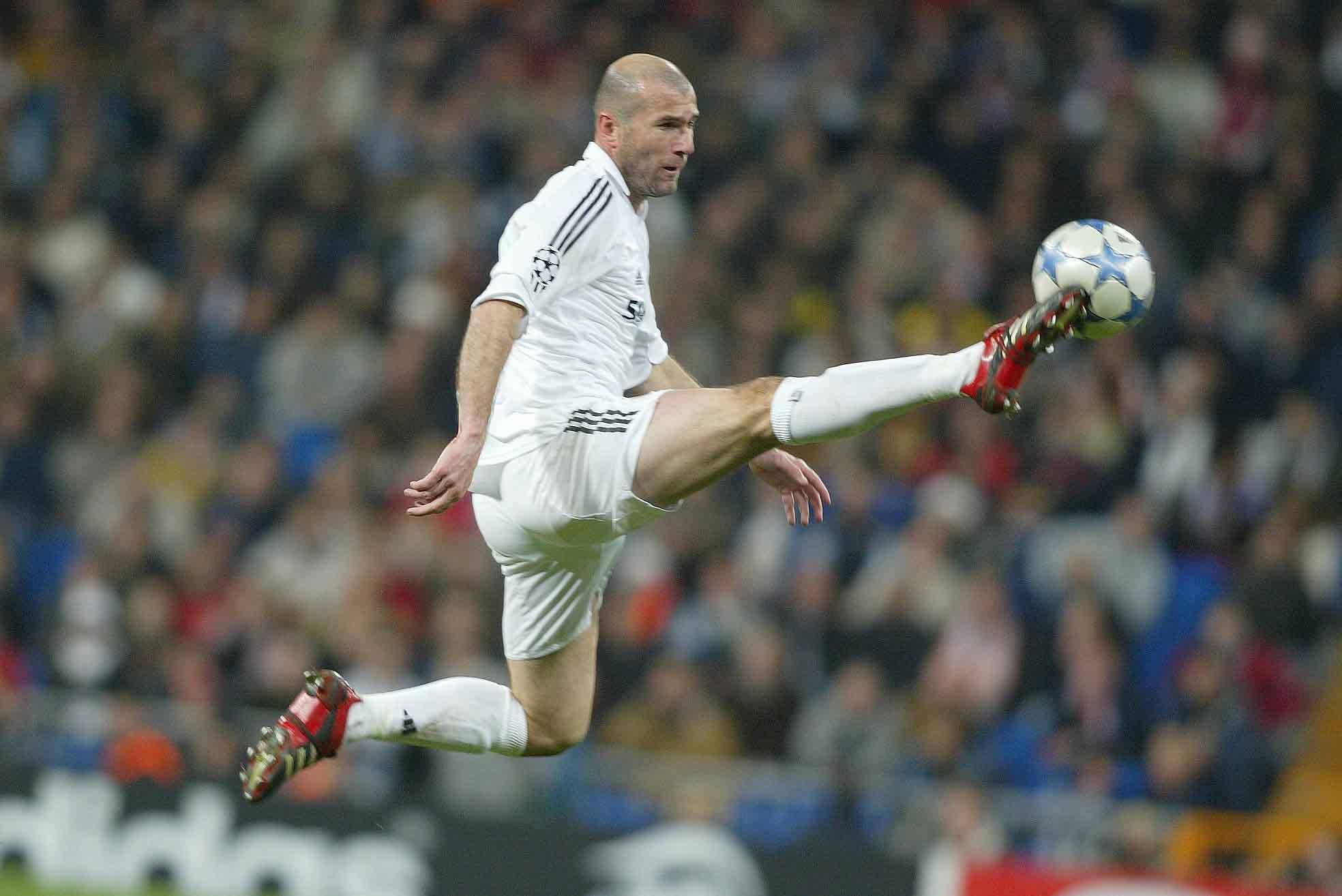 Le portrait de Zinedine Zidane (entraineur du Réal Madrid), tout est fantastique