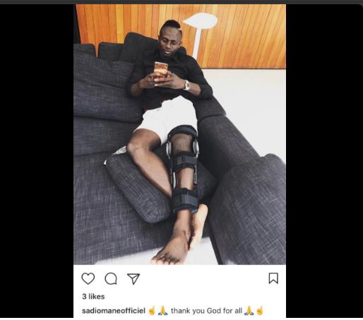 Photo-Sadio Mané pourrait subir une opération du genou