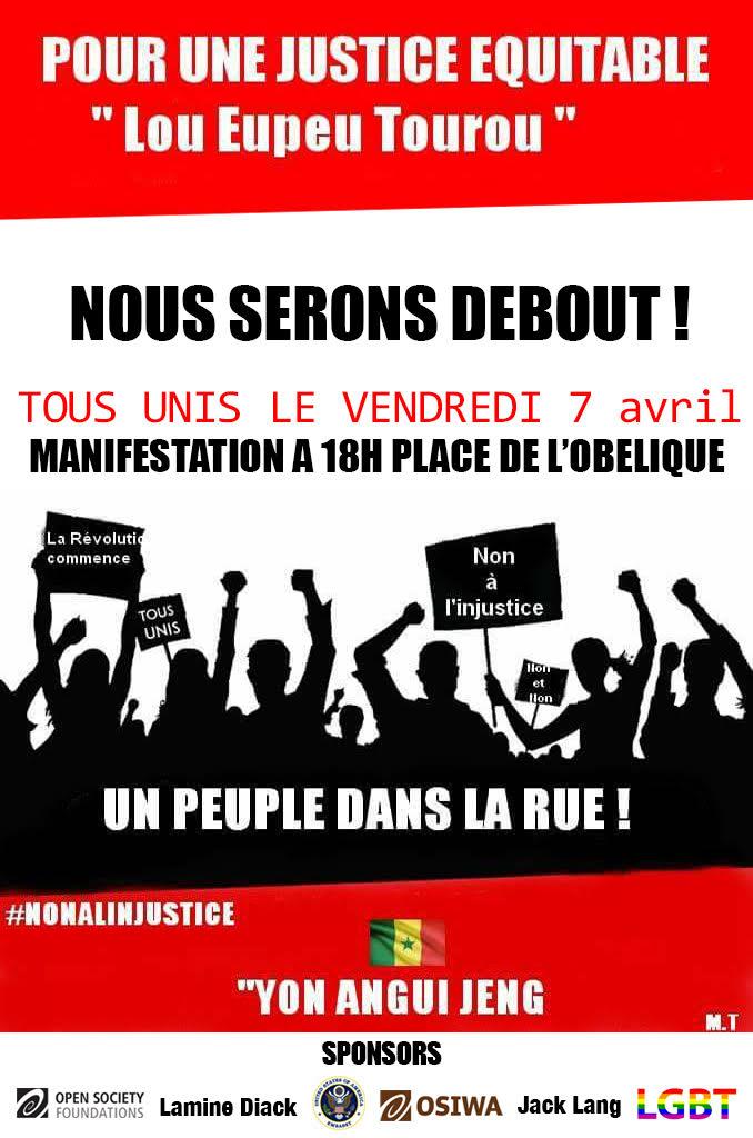 """Le mouvement """"Yaakaar Bou Tass"""" dévoile les deals de Y'en a marre : les 500 millions et les 15 millions de..."""
