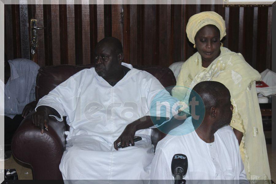 Vidéo-photos: point de presse du  groupement religieux et culturel des disciples de Cheikh Ahmadou Bamba