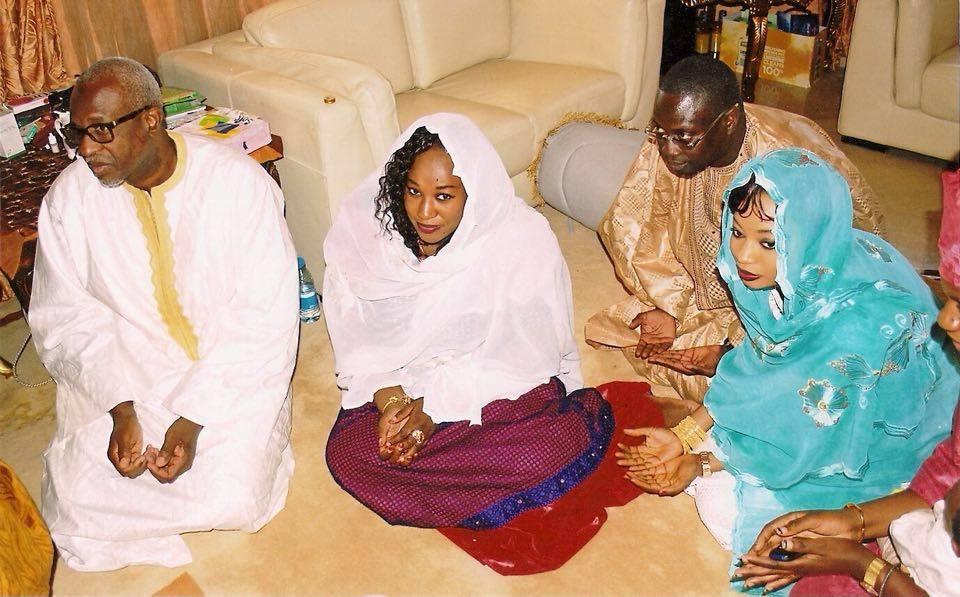 Photo : Mbackiou Faye et ses enfants