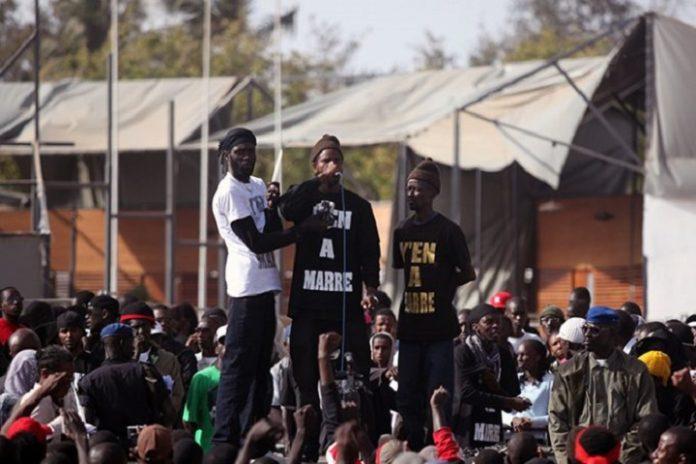 Rassemblement de protestation du mouvement  Y en a marre: Pari gagné