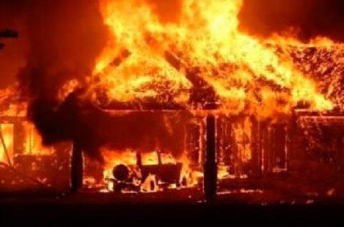 Incendie au marché Zinc de Kaolack: 500 millions partis en fumée