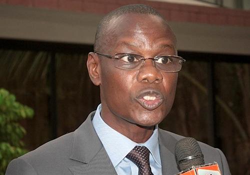 """Mor Ngom, ministre-conseiller: """"Ce sont des politiciens en perte de vitesse qui étaient à la manifestation de Y en a marre"""""""