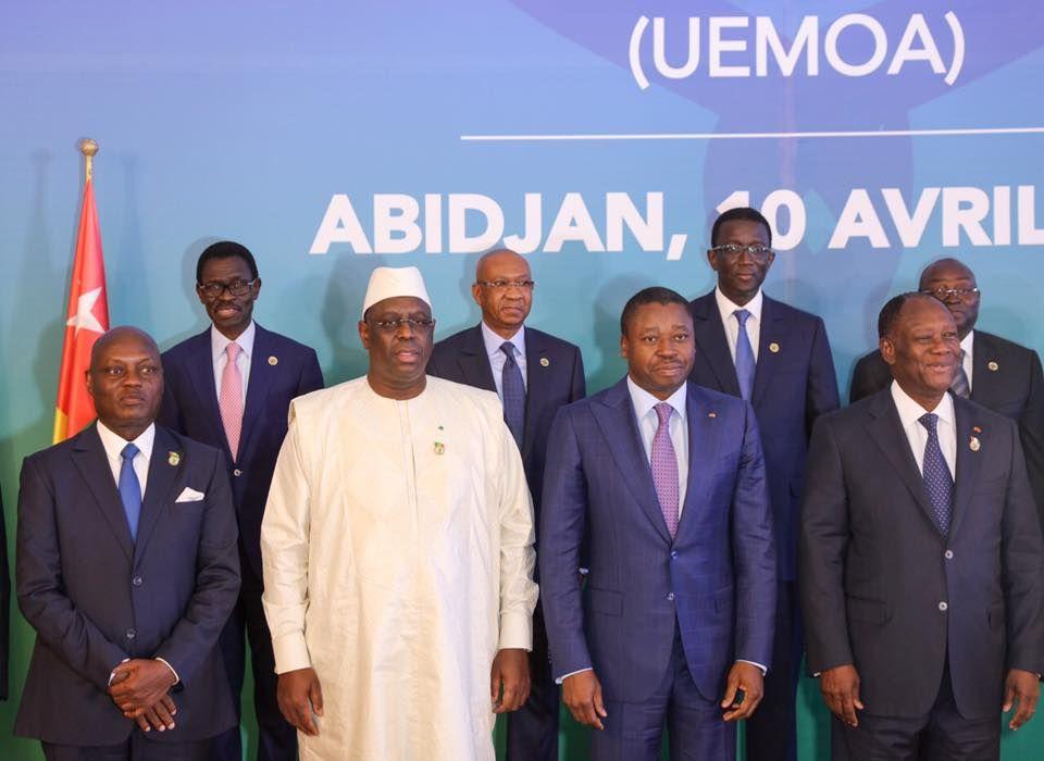 Photos- Le président Macky Sall au sommet de l'UMEAO à Abidjan