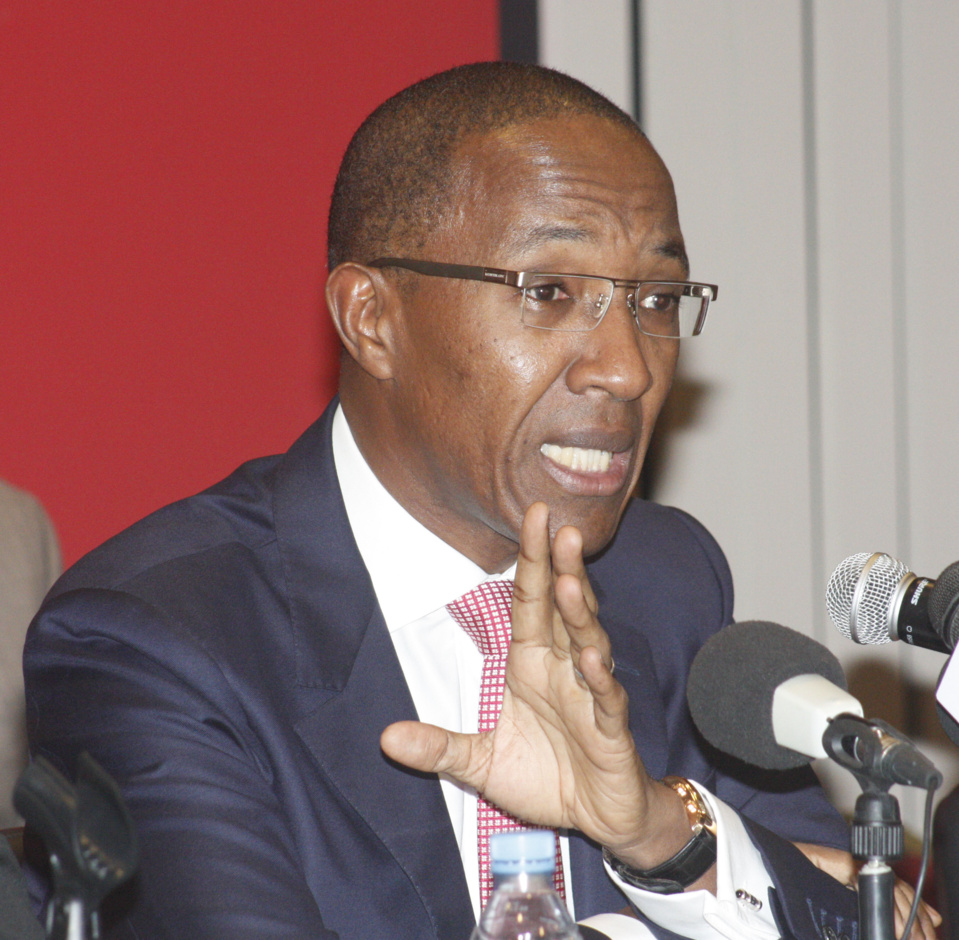 abdoul mbaye  u00e0 sa sortie de sa visite au maire de dakar    u00ab  u00ab j u2019ai trouv u00e9 un homme serein avec