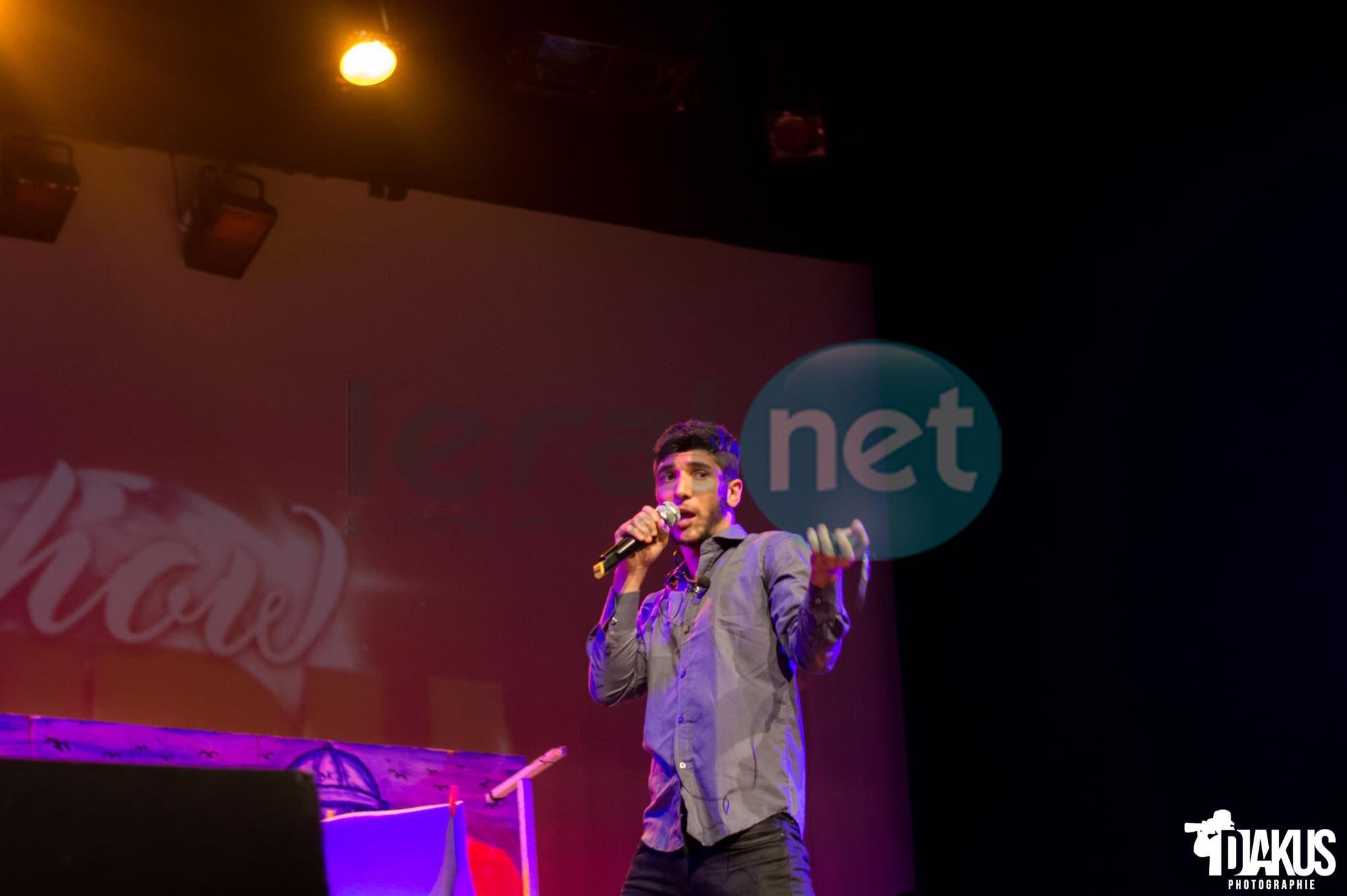 Photos- Dudu Show, une réussite pour le youtubeur c'était au théâtre Daniel Sorano