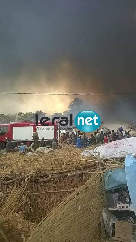 Le feu au Daaka de Médina Gounass en image