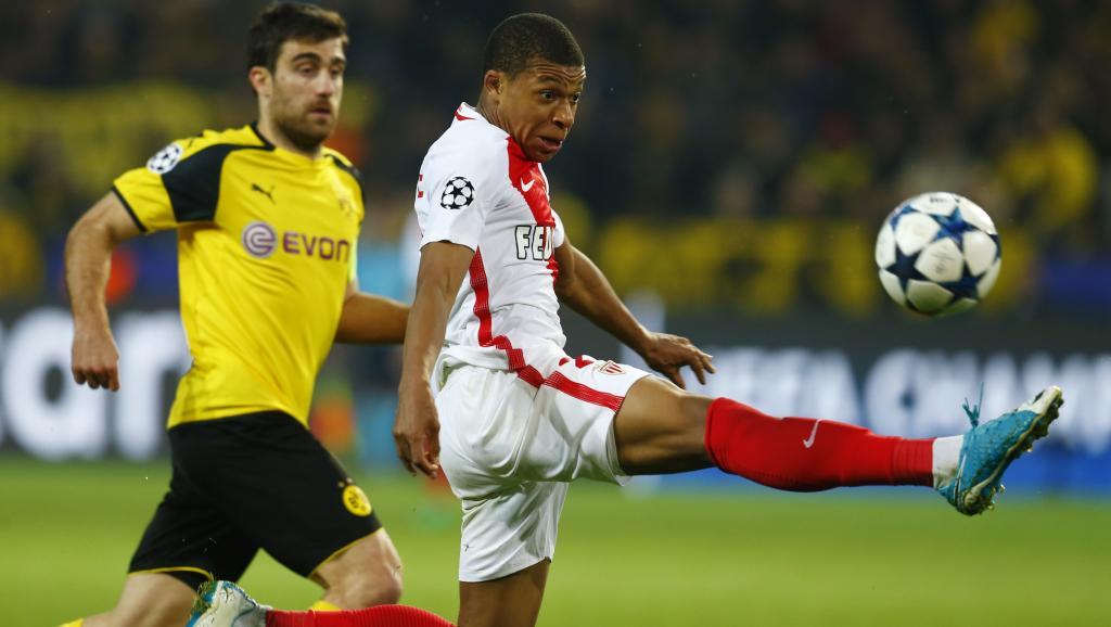 Football: Dortmund battu par Monaco en Ligue des champions