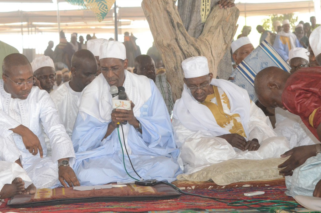Visite après le sinistre de Médina Gounass: Abdoulaye Daouda Diallo s'explique, le Khalife sermonne les autorités