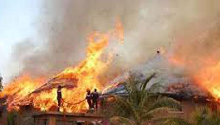 Ziguinchor: une maison réduite en cendres par un incendie