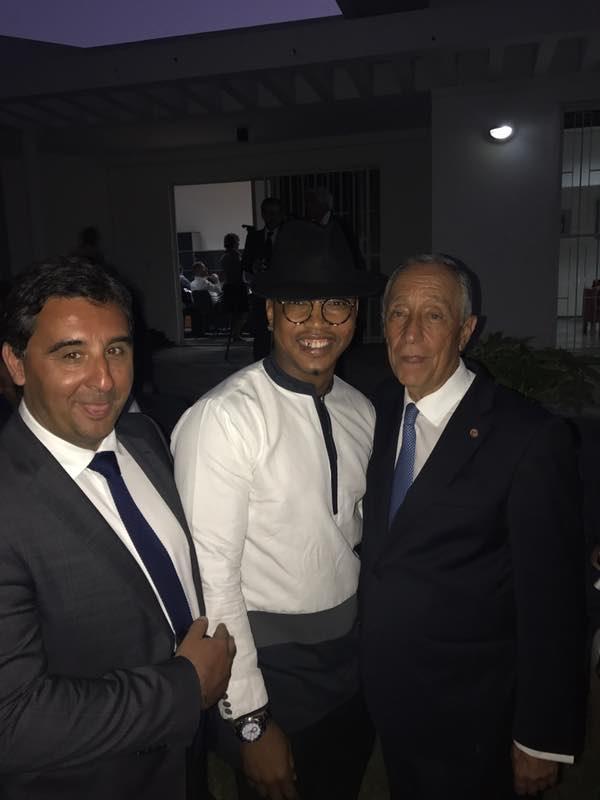 Le président Portugais est-il fan de Dioufy?