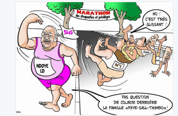 Un marathon glissant (La Tribune d'Odia)... Ndoye jette l'éponge