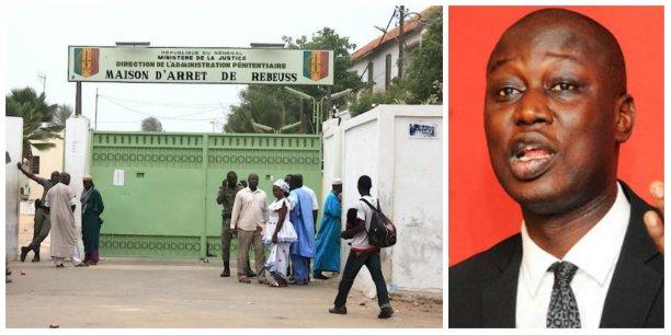 La prison urbaine de Rebeuss à Dakar, le lieu où KHalifa Sall est incarcéré (Crédits : DR)