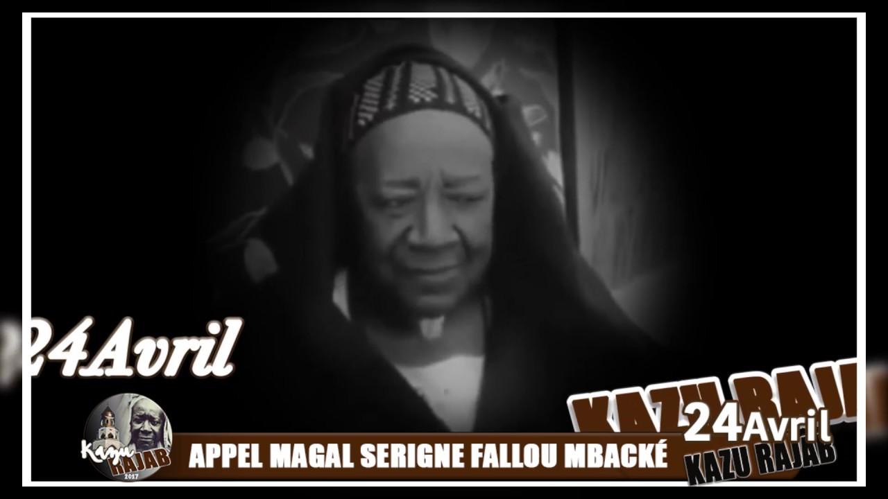 Le Khalife général des Mourides appelle les disciples mourides à venir prendre part au Kazu Rajab