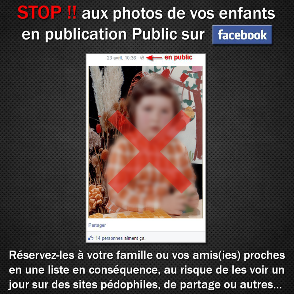 A quel point publier des photos de ses enfants sur Facebook est-il dangereux ?