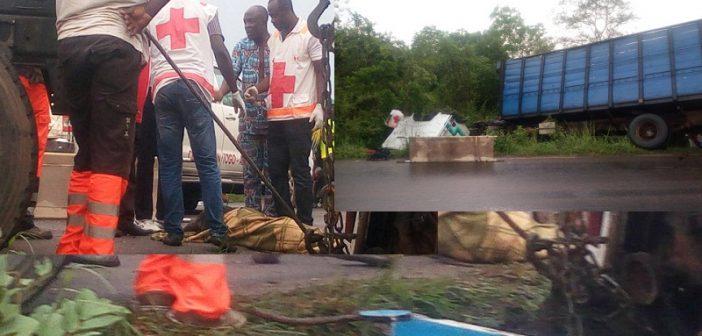 Togo: plusieurs morts ce jeudi dans un grave accident de circulation