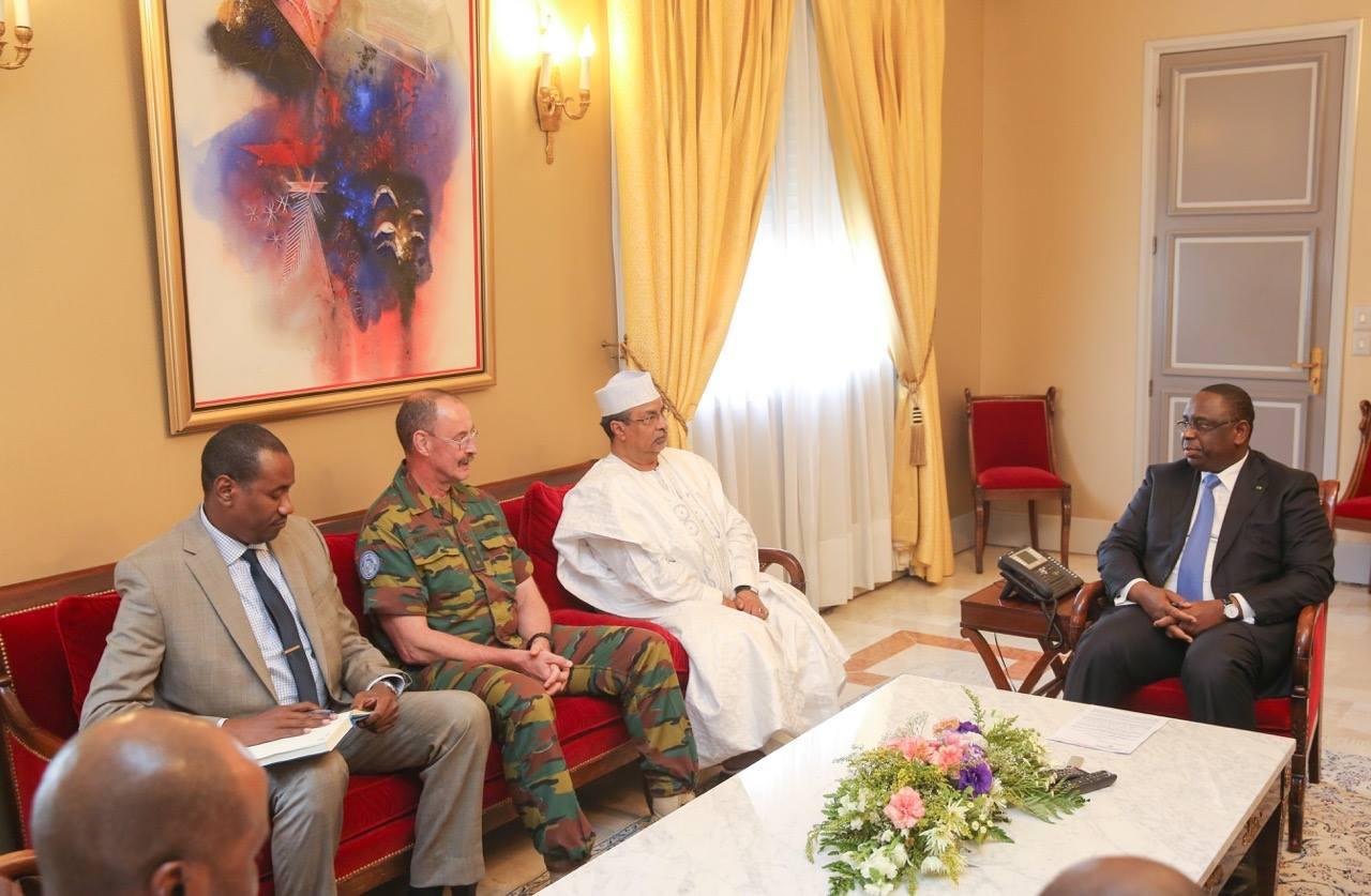 Macky Sall a reçu le représentant du Secrétaire Général des Nations-Unies au Mali, M. Annadif Khatir Mahamat Saleh