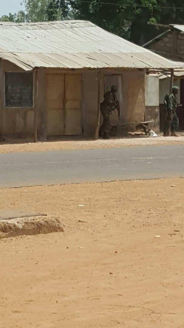Gambie: Trois soldats blessés dans un accrochage à Kanilaï (images)