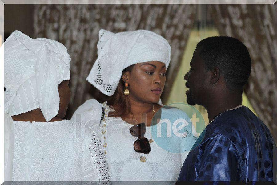 Bébé Rose, l'épouse de Samuel Sarr soutenue par son griot Alassane Mbaye