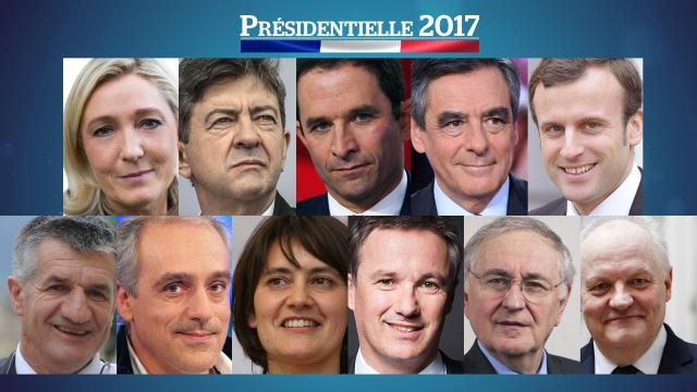 Emmanuel Macron ( 23,7 %) et Marine Le Pen : (21,7 %) en tête, Hamon et Fillon appellent à voter Macron