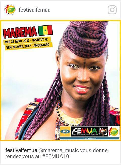 Maréma Fall, la seule artiste-chanteuse qui représentera le Senegal au FEMUA