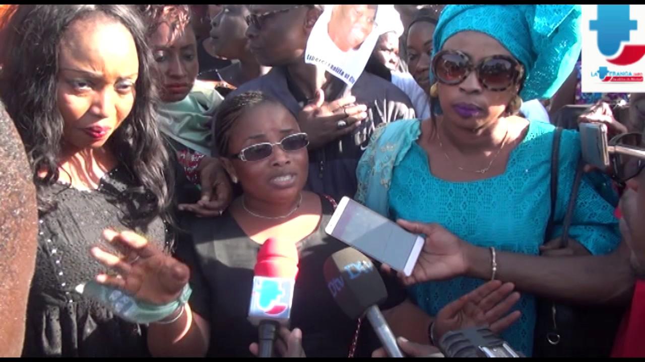 Marche: Les femmes de Grand-Yoff exigent la libération de Khalifa Sall