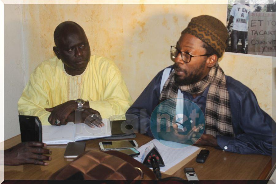 Vidéo-photos: la rencontre du mouvement Y en Marre et la Coordination des associations de presse (CAP)
