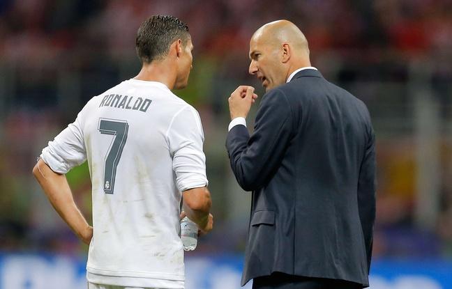 Real-Atletico: Zidane est «un peu jaloux» du nombre de buts marqués par Cristiano Ronaldo