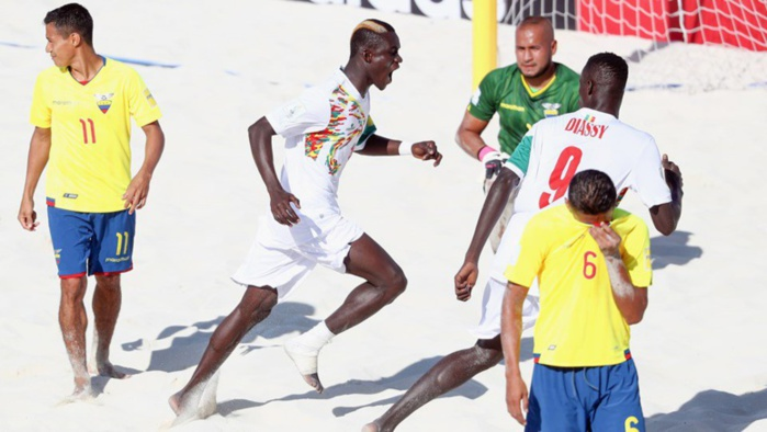 Message de félicitations de S.E.M Macky Sall à l'équipe nationale de Beach Soccer