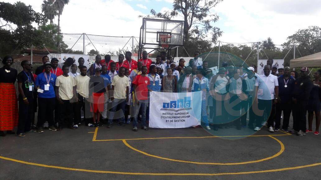 Iseg, double champion d'Afrique universitaire de basket-ball, se qualifie pour la Coupe du Monde