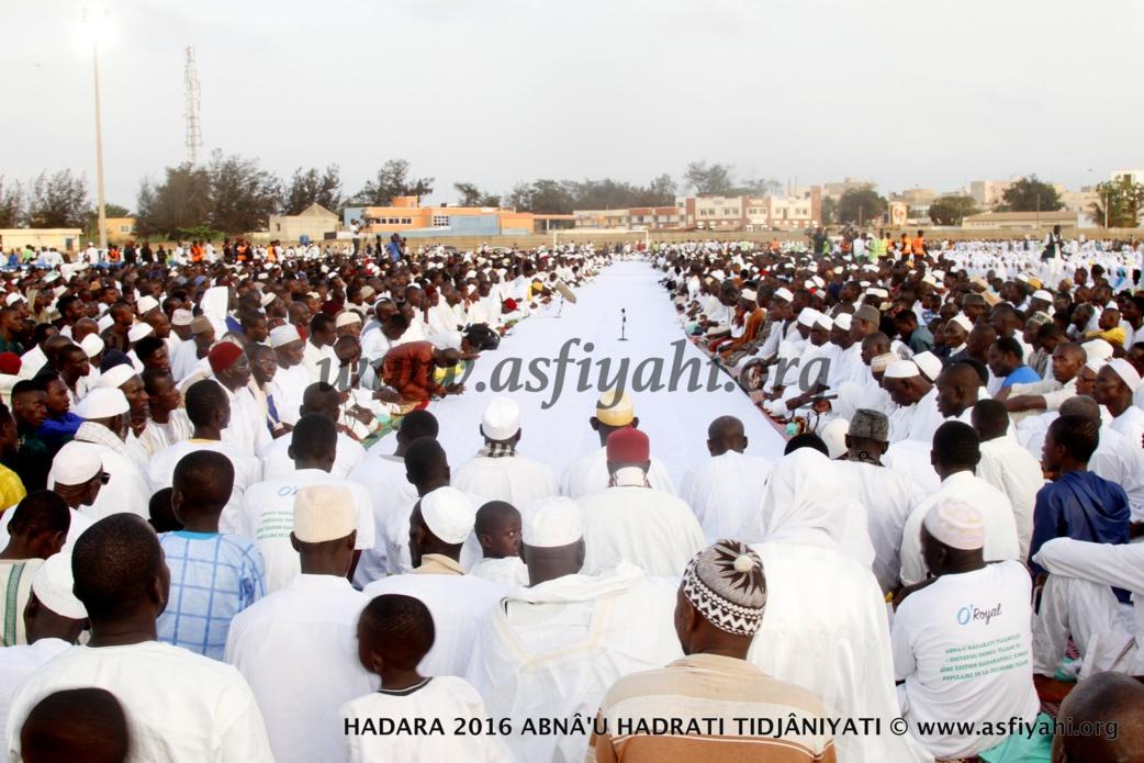 Première sortie officielle du Khalife général des Tidianes, Serigne Abdoul Aziz Al Amine, ce vendredi au stade Amadou Barry à la Hadratoul Djumah
