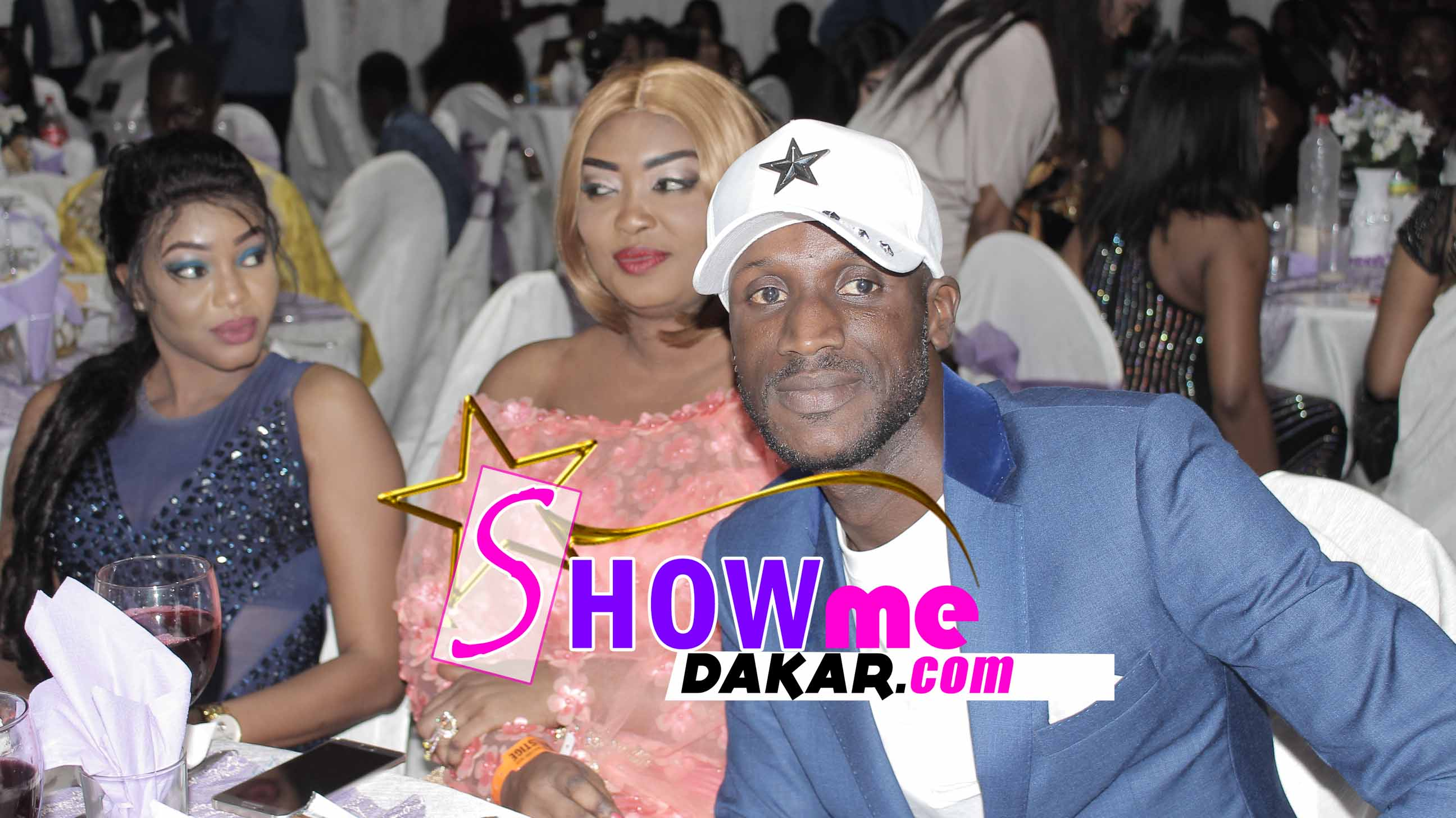 6 photos : Sanekh et sa femme à la soirée de Wally Ballago