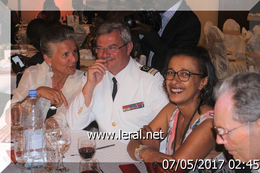 Vidéo photos: Le dîner de gala de l'association SMLH (Société des membres de la Légion d'honneur)