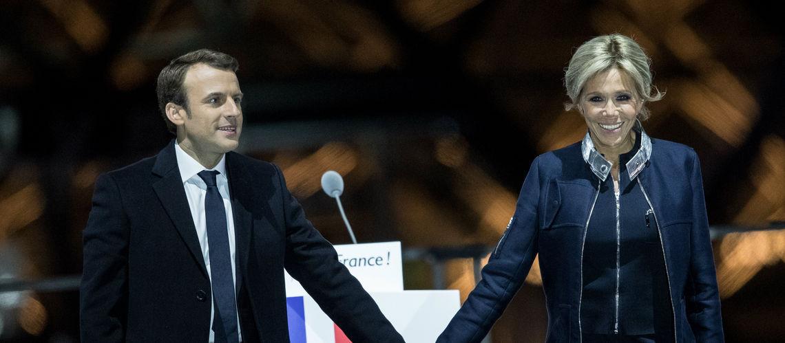 20 Photos : Brigitte Macron une première dame « ultra-classe » en Louis Vuitton place du Louvre