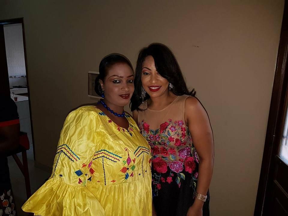 Photos : Viviane Chidid et Djeynaba Diallo, une affaire de belles femmes