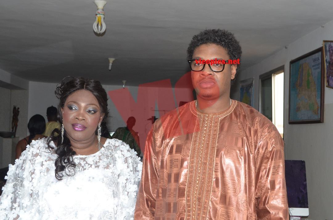 ( 23 photos ) Ndella Madior Diouf se marie et devient Madame Touré