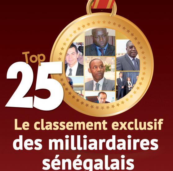 TOP 25 des milliardaires sénégalais : Layousse, Aliou Sow, Abdoulaye Diao ITOC, Abdoulaye Dia, Senico, Ameth Amar, Yerim Sow et les autres
