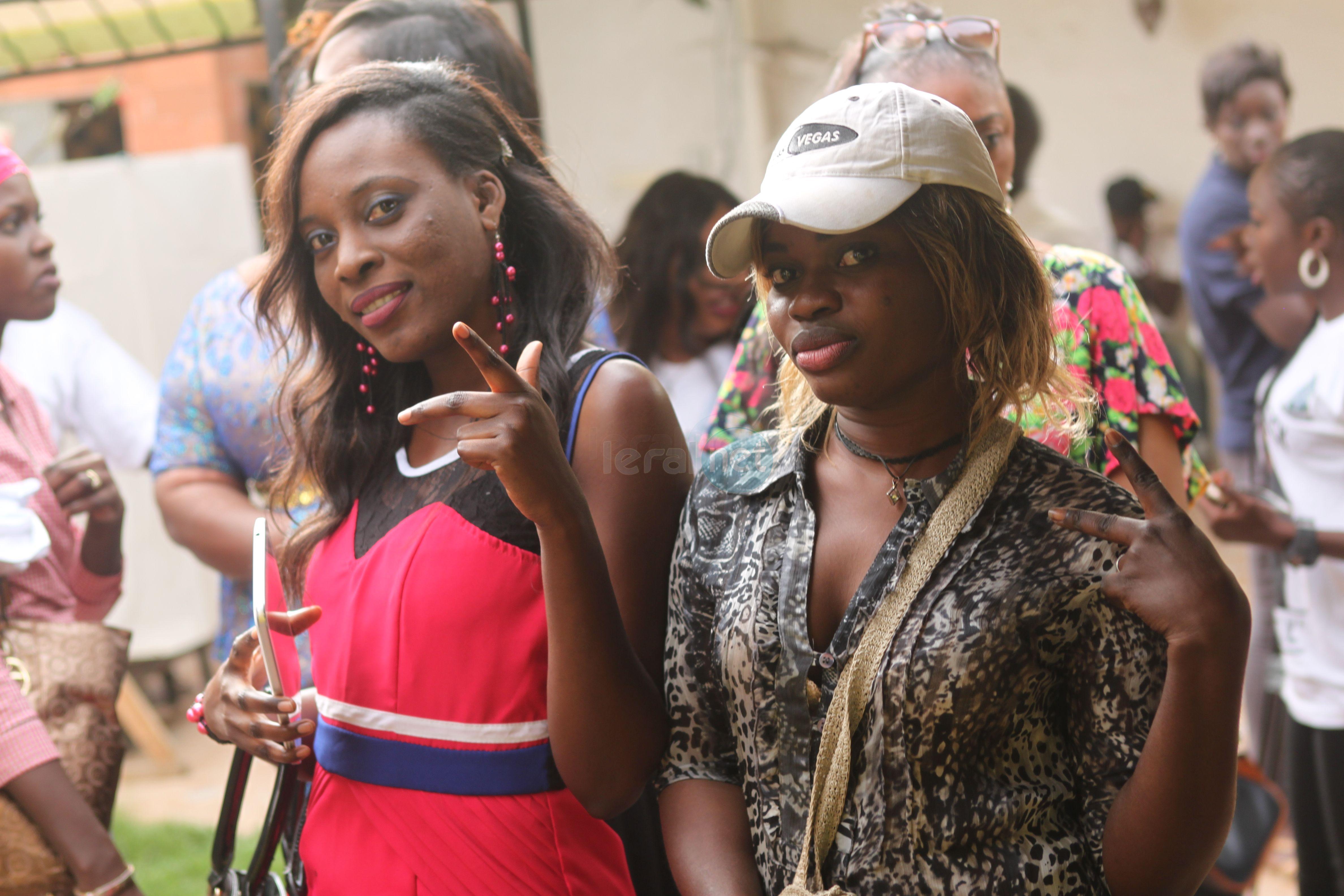 """Les jumelles d'Abdou Guité Seck lors du lancement de son nouvel opus """"Ndioukeul"""""""