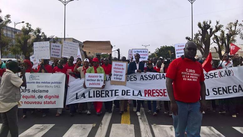 Soupçonnant des représailles contre la marche des pofessionnels des médias: La Cap s'indigne du blocage de l'aide à la presse