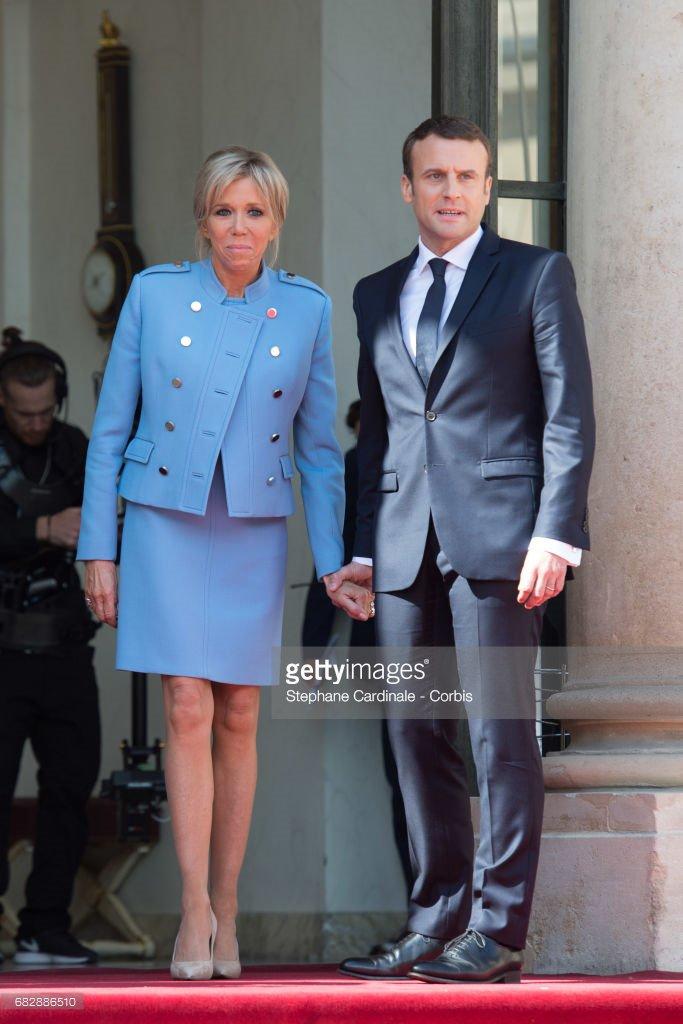 43 photos : Emmanuel Macron et Brigitte Trogneux, un amour présidentiel
