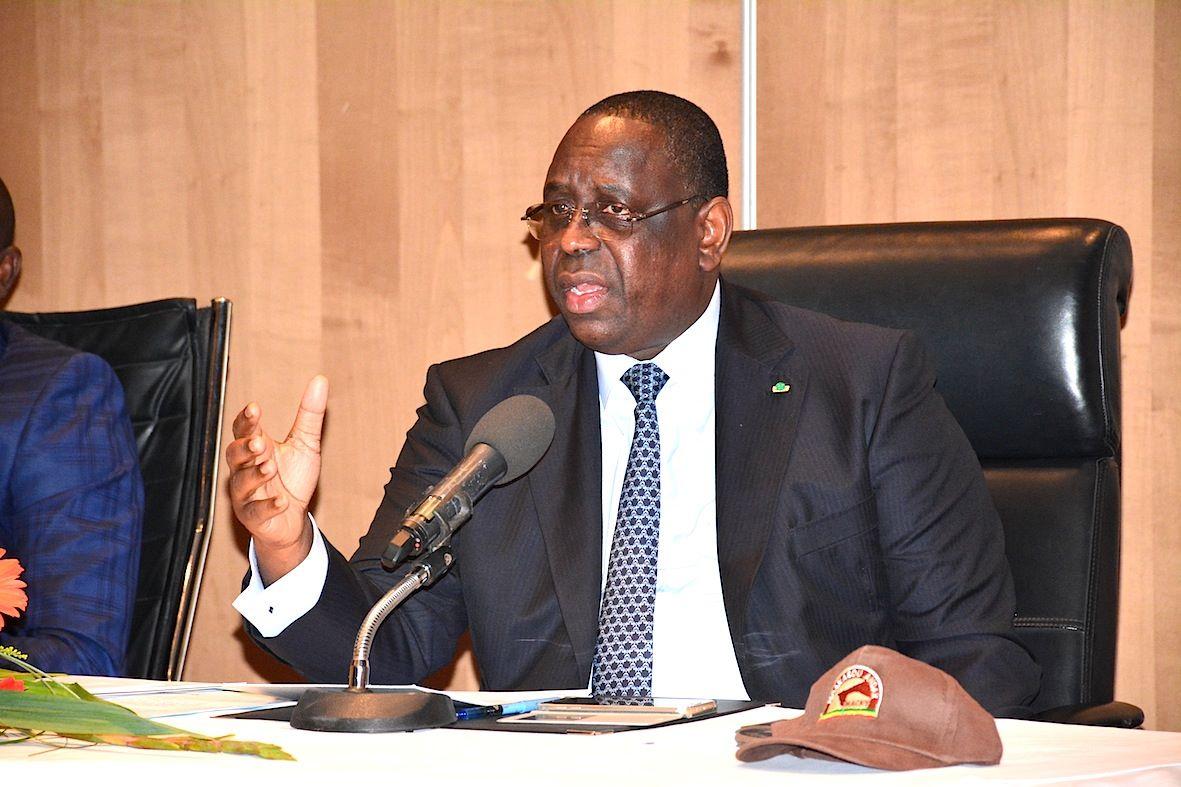 """Macky Sall : """"Le Sénégal a suffisamment de réserves pour devenir un eldorado gazier"""""""