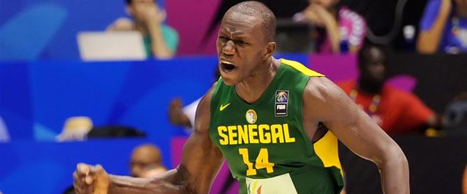 """Gorgui Sy Dieng, pivot des """"Lions"""" du basket-ball: sa seule obsession, remporter l'Afrobasket 2017 pour son pays"""
