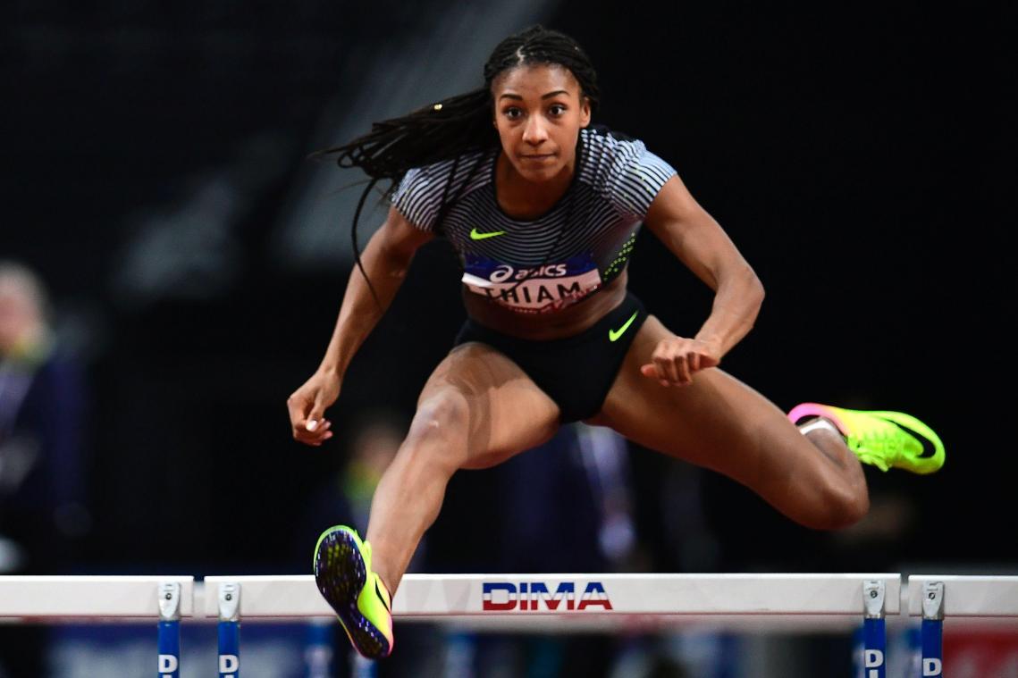 Nafissatou Thiam athlète belge, d'origine sénégalaise.
