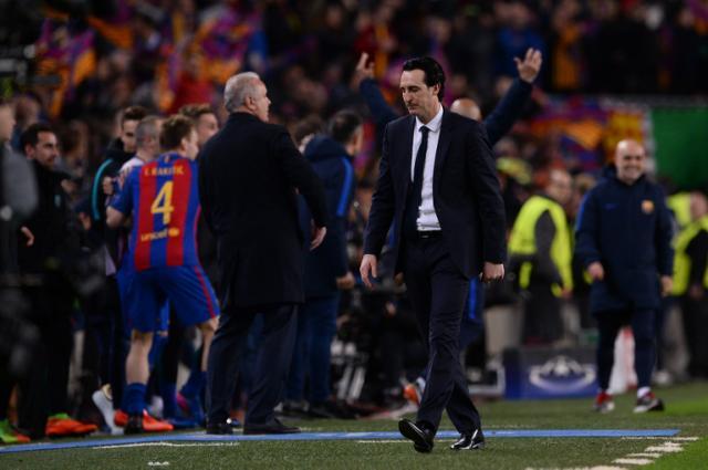 Comment Emery a fait douter ses joueurs avant le retour face au Barça